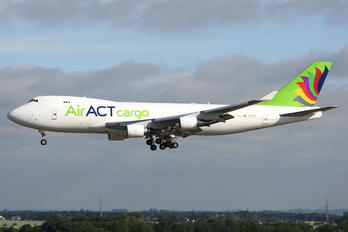 TC-MCT - ACT Airlines Boeing 747-400F, ERF