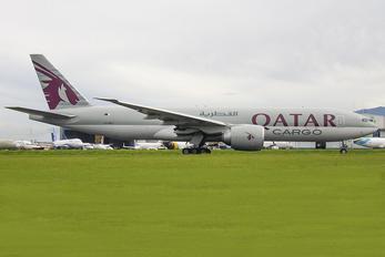 A7-BFJ - Qatar Airways Cargo Boeing 777F