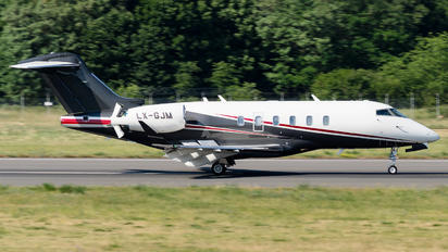 LX-GJM - Private Bombardier BD-100 Challenger 350 series