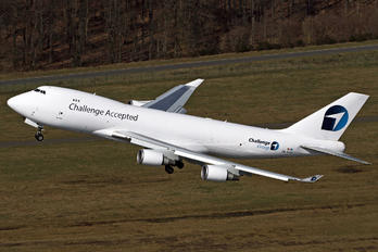 OO-ACF - Challenge Airlines (BE) S.A. e Boeing 747-400F, ERF