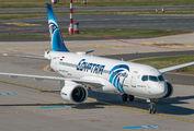 SU-GFF - Egyptair Airbus A220-300 aircraft