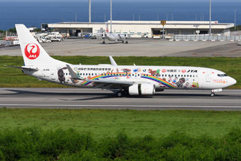 JA11RK - JAL - Japan Transocean Air Boeing 737-800