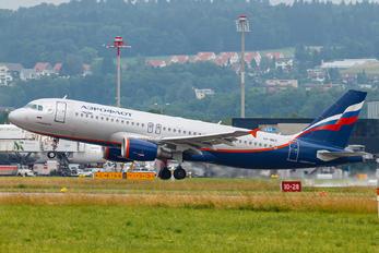 VP-BKC - Aeroflot Airbus A320