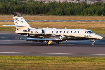 9H-SNB - PontAir Cessna 680 Sovereign