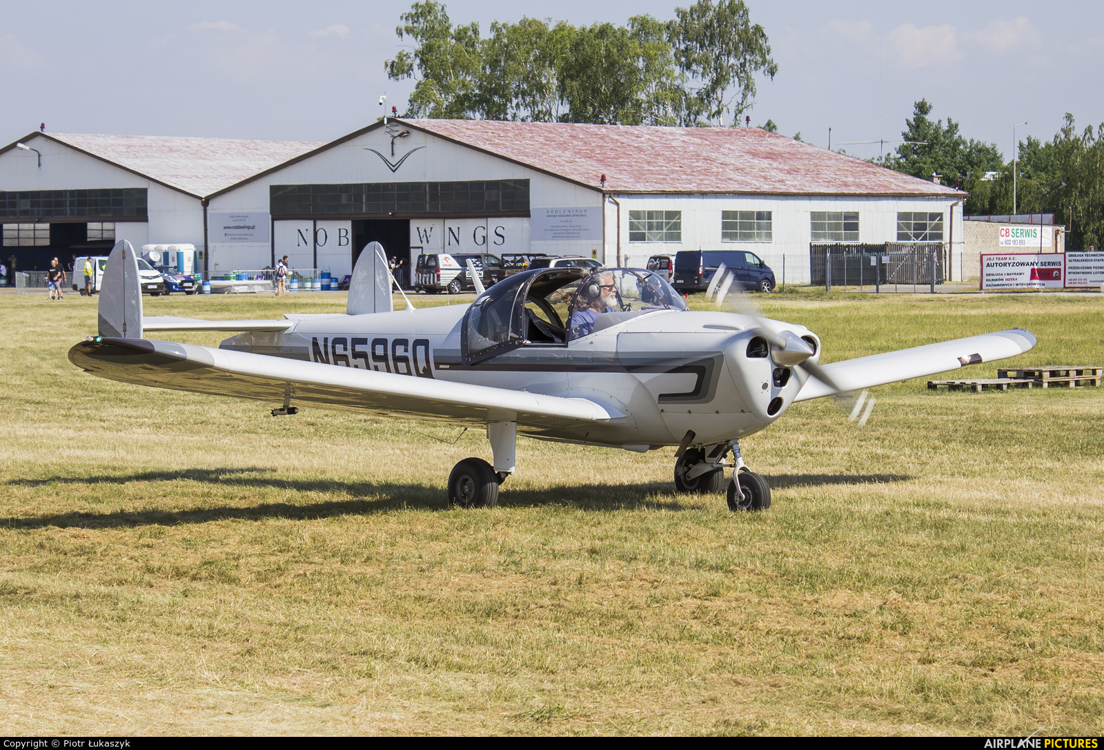 Private N6596Q aircraft at Leszno - Strzyżewice