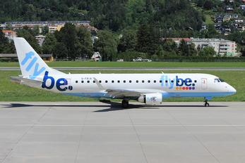 G-FBJA - Flybe Embraer ERJ-175 (170-200)