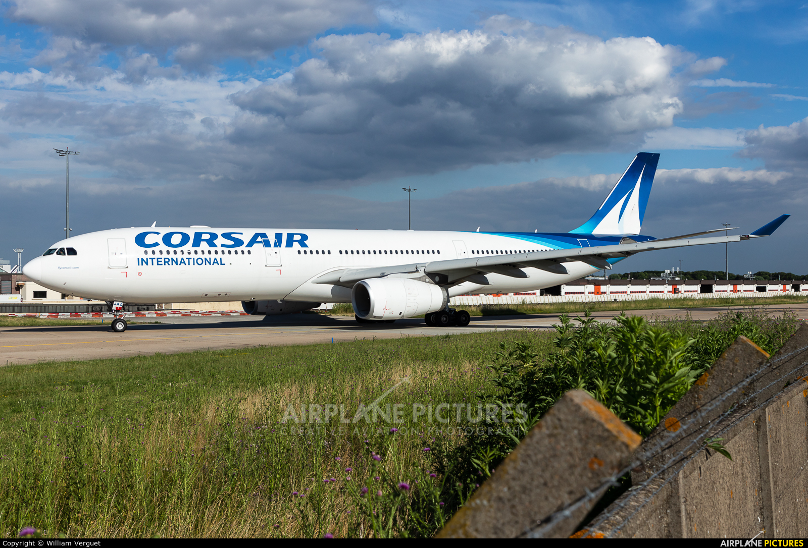 Corsair / Corsair Intl F-HJAZ aircraft at Paris - Orly