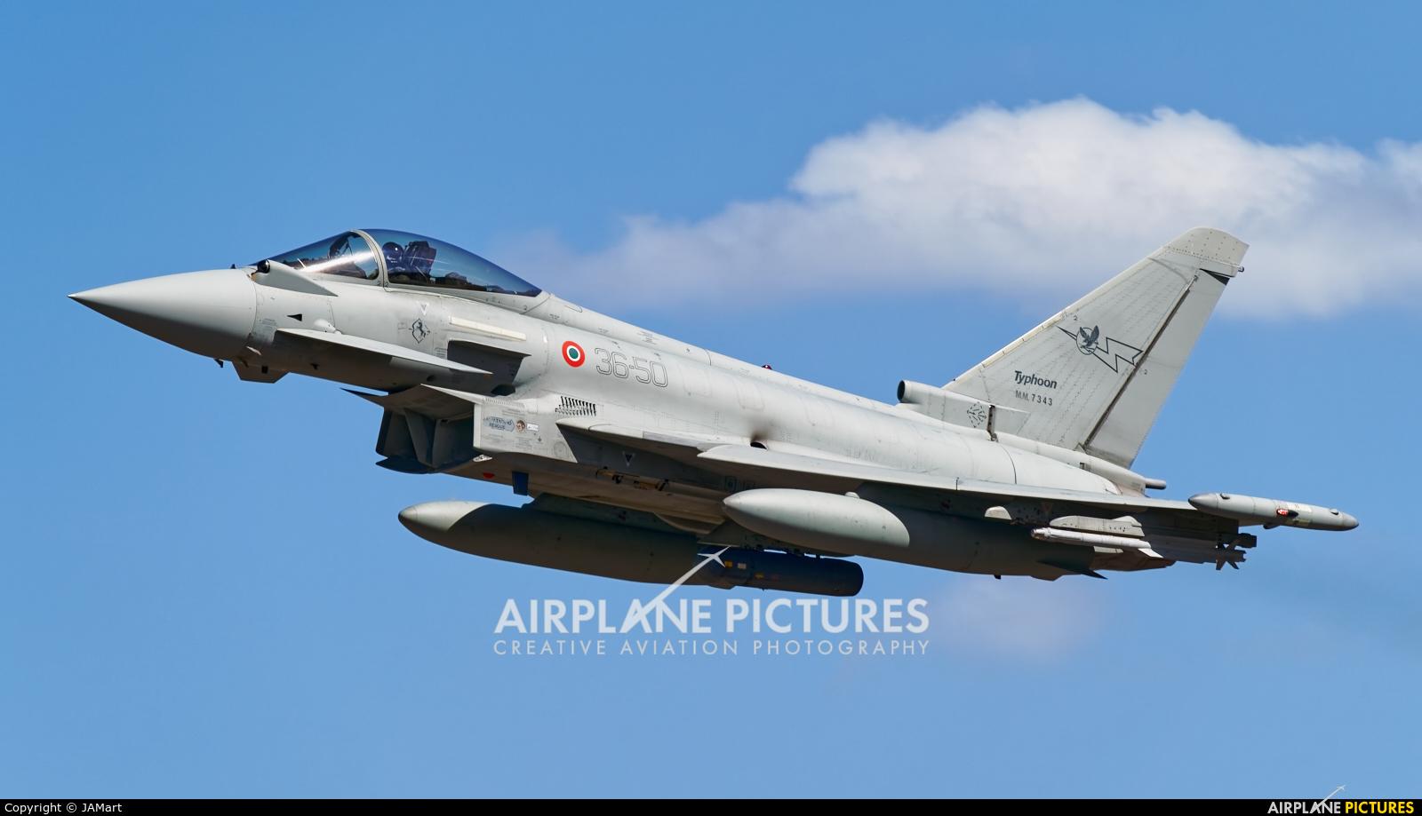 Italy - Air Force MM7343 aircraft at Beja AB