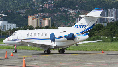 N812SD - Private Raytheon Hawker 800XP