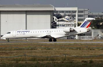 F-GRZC - Air France - Hop! Canadair CL-600 CRJ-702