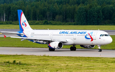 VP-BVR - Ural Airlines Airbus A321