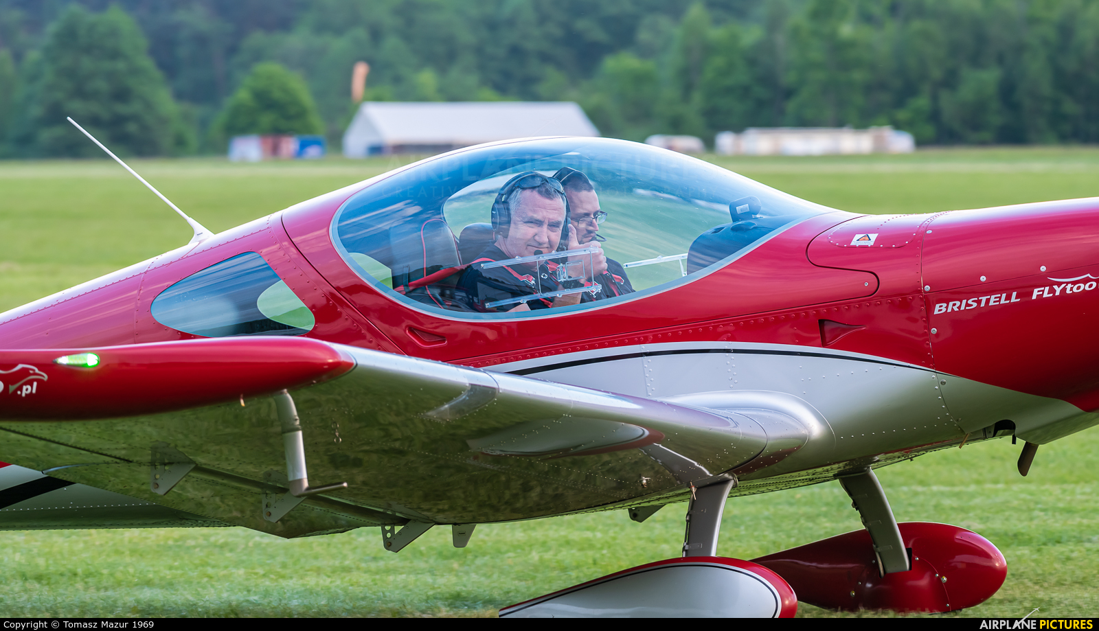 - Aviation Glamour SP-SFTO aircraft at Rybnik - Gotartowice