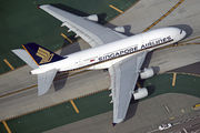 9V-SKQ - Singapore Airlines Airbus A380 aircraft