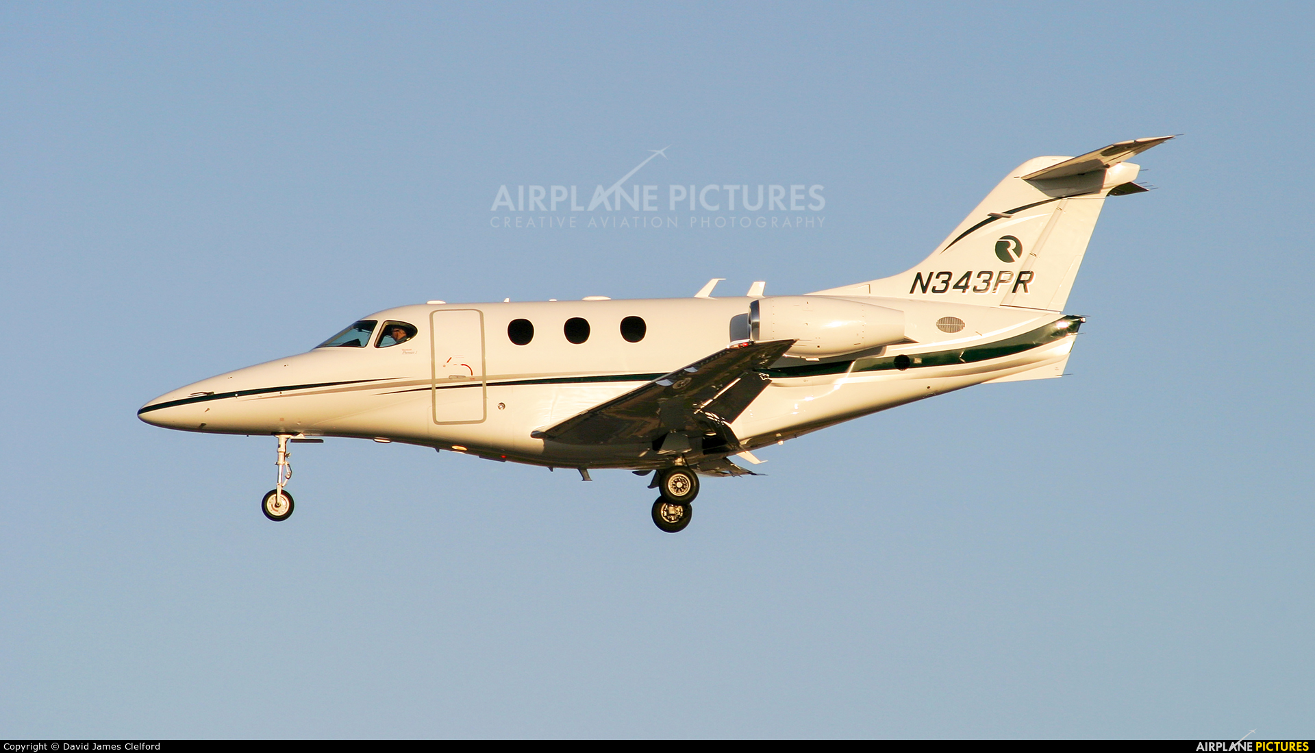 Private N343PR aircraft at Las Vegas - McCarran Intl