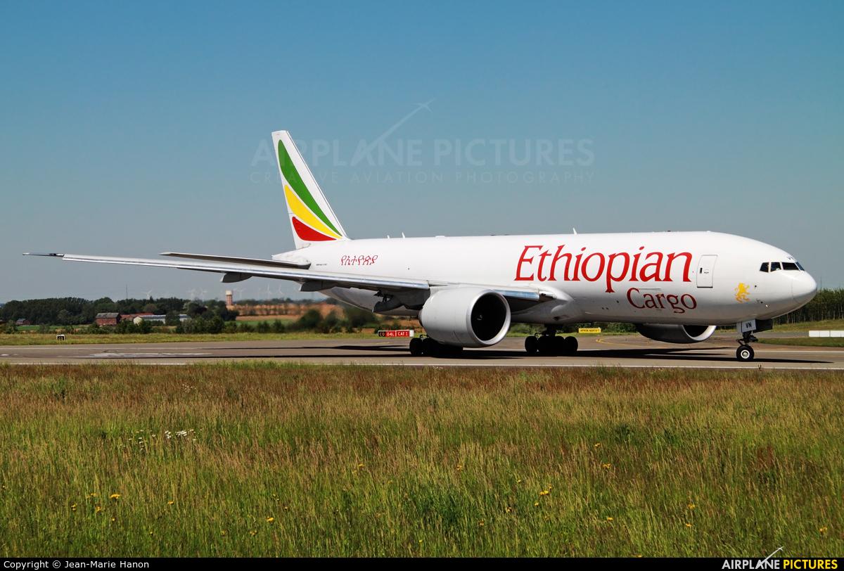 Ethiopian Cargo ET-AVN aircraft at Liège-Bierset