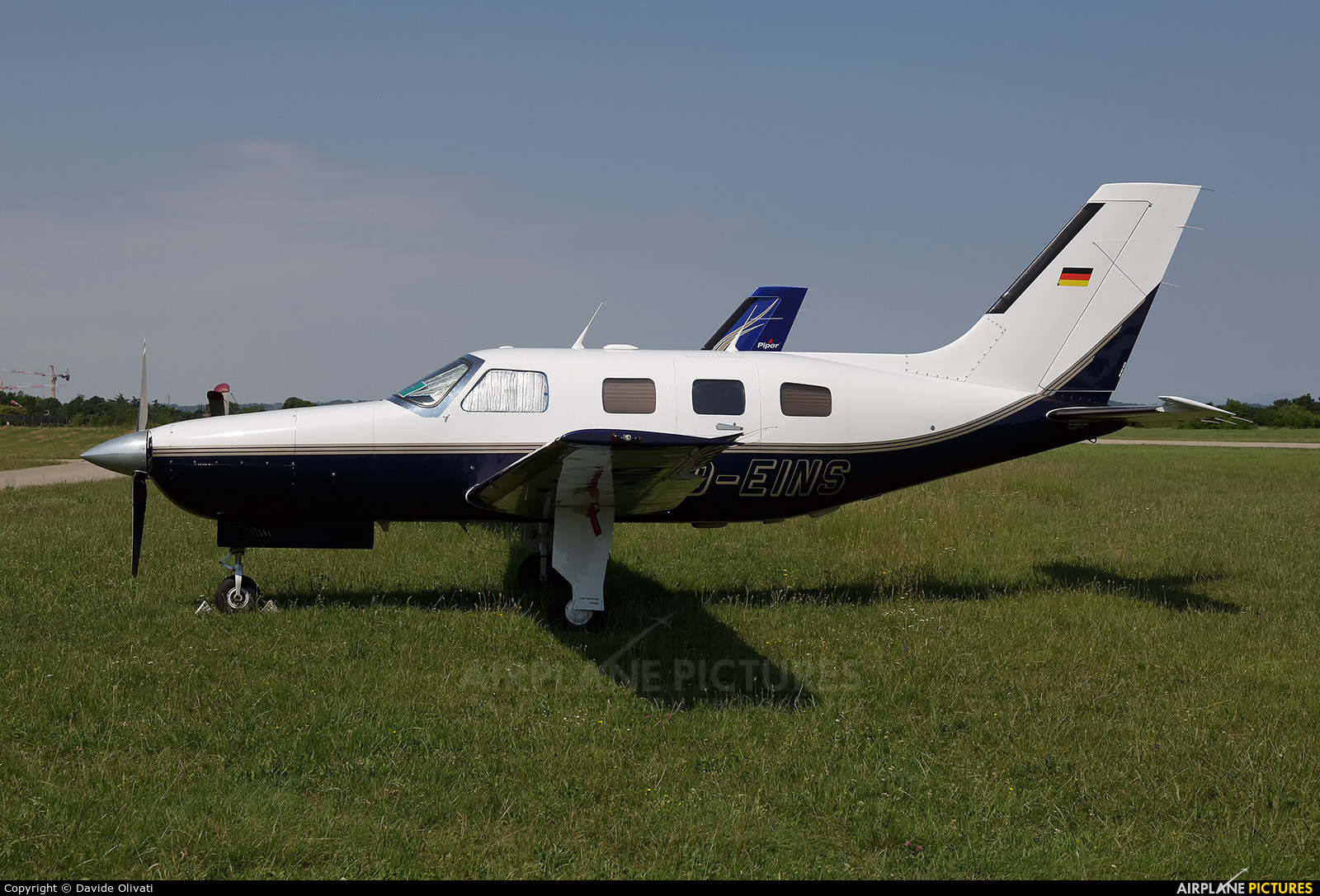 Private D-EIND aircraft at Verona - Boscomantico