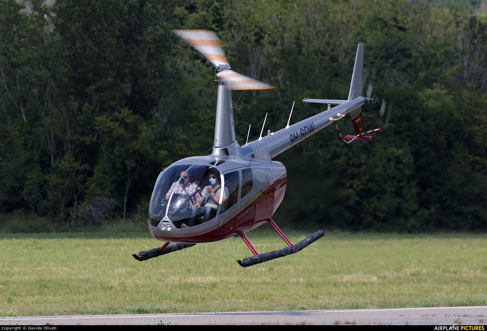 Private 9H-SDW aircraft at Verona - Boscomantico