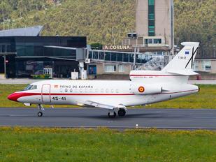 T.18-2 - Spain - Air Force Dassault Falcon 900 series