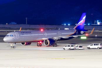 VP-BRC - Aeroflot Airbus A321 NEO