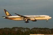 9V-SRA - Singapore Airlines Boeing 777-200ER aircraft
