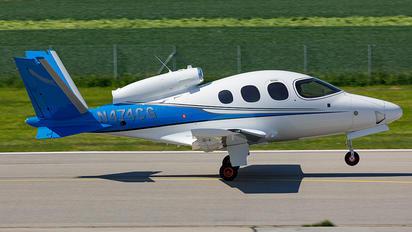 N474CG - Private Cirrus Vision SF50