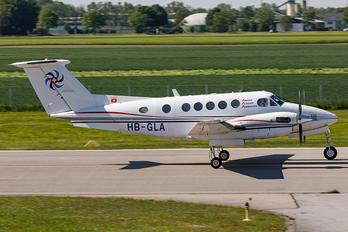 HB-GLA - Swiss Flight Services Beechcraft 200 King Air