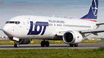 SP-LVC - LOT - Polish Airlines Boeing 737-8 MAX aircraft