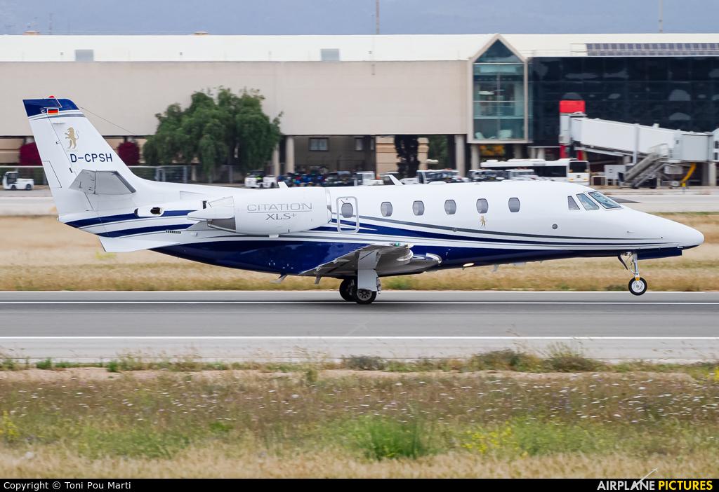 Heron Aviation D-CPSH aircraft at Palma de Mallorca