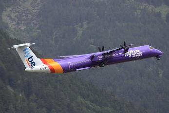 G-JEDV - Flybe de Havilland Canada DHC-8-400Q / Bombardier Q400