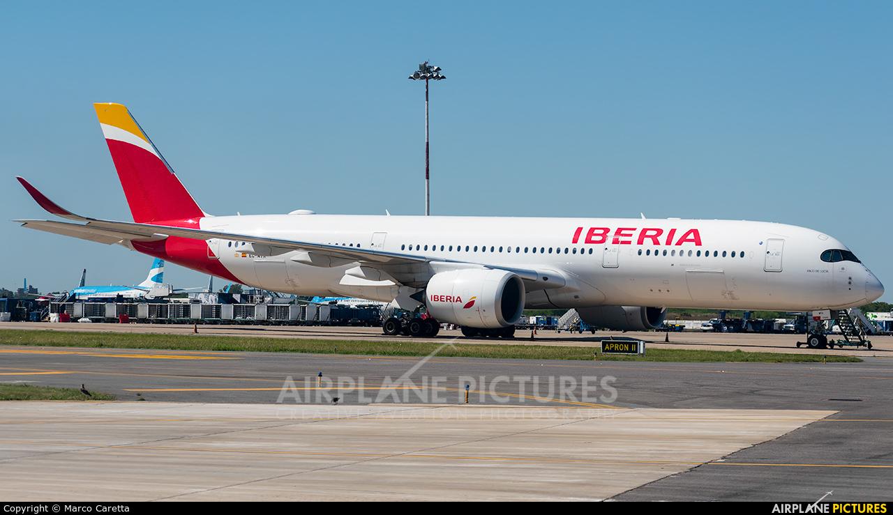 Iberia EC-MYX aircraft at Buenos Aires - Ministro Pistarini