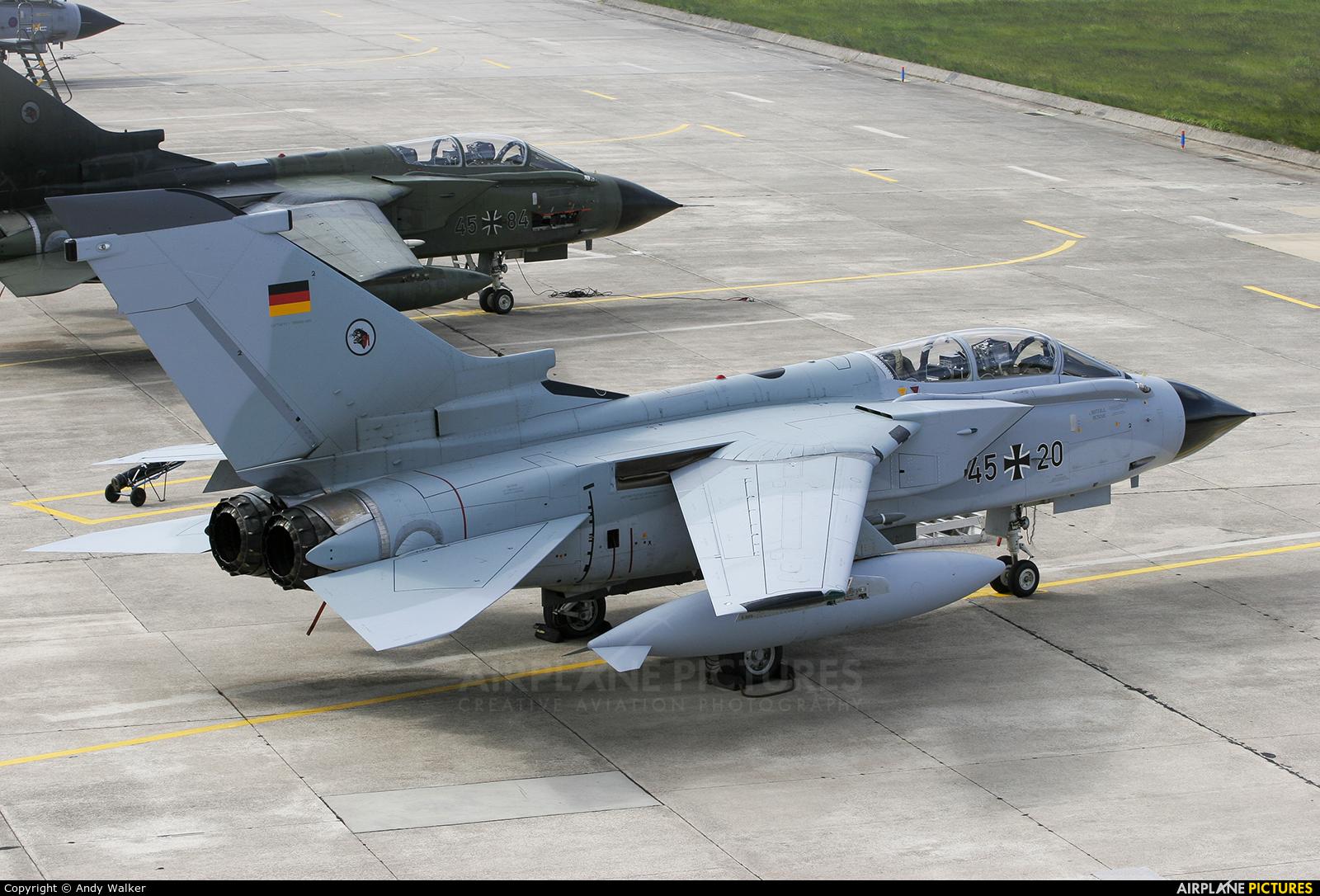 Germany - Air Force 45+20 aircraft at Lossiemouth