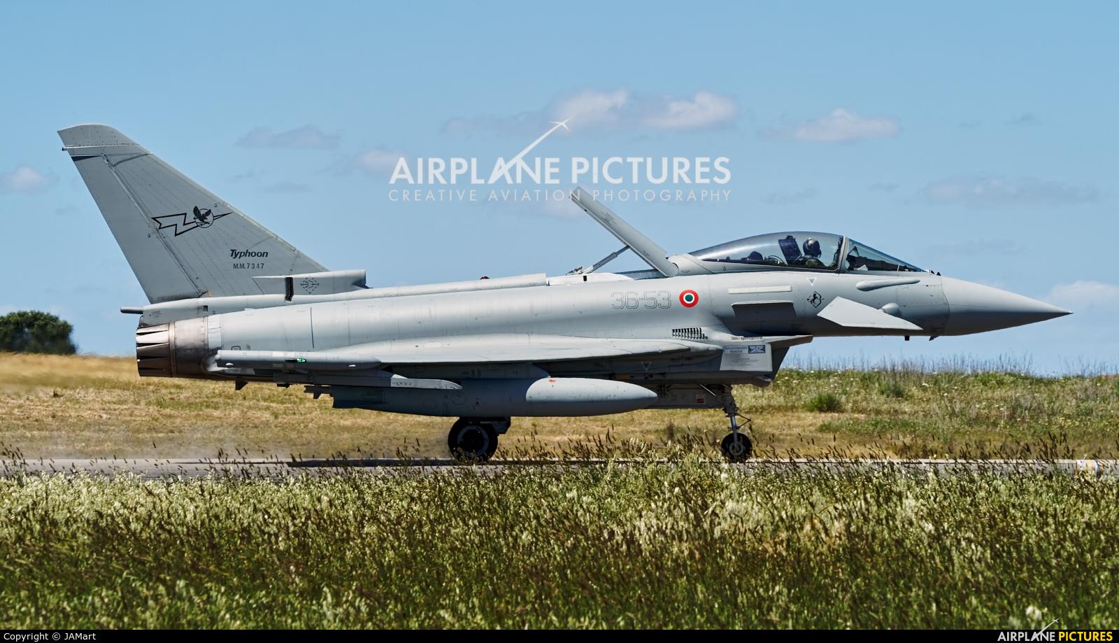 Italy - Air Force MM7347 aircraft at Beja AB