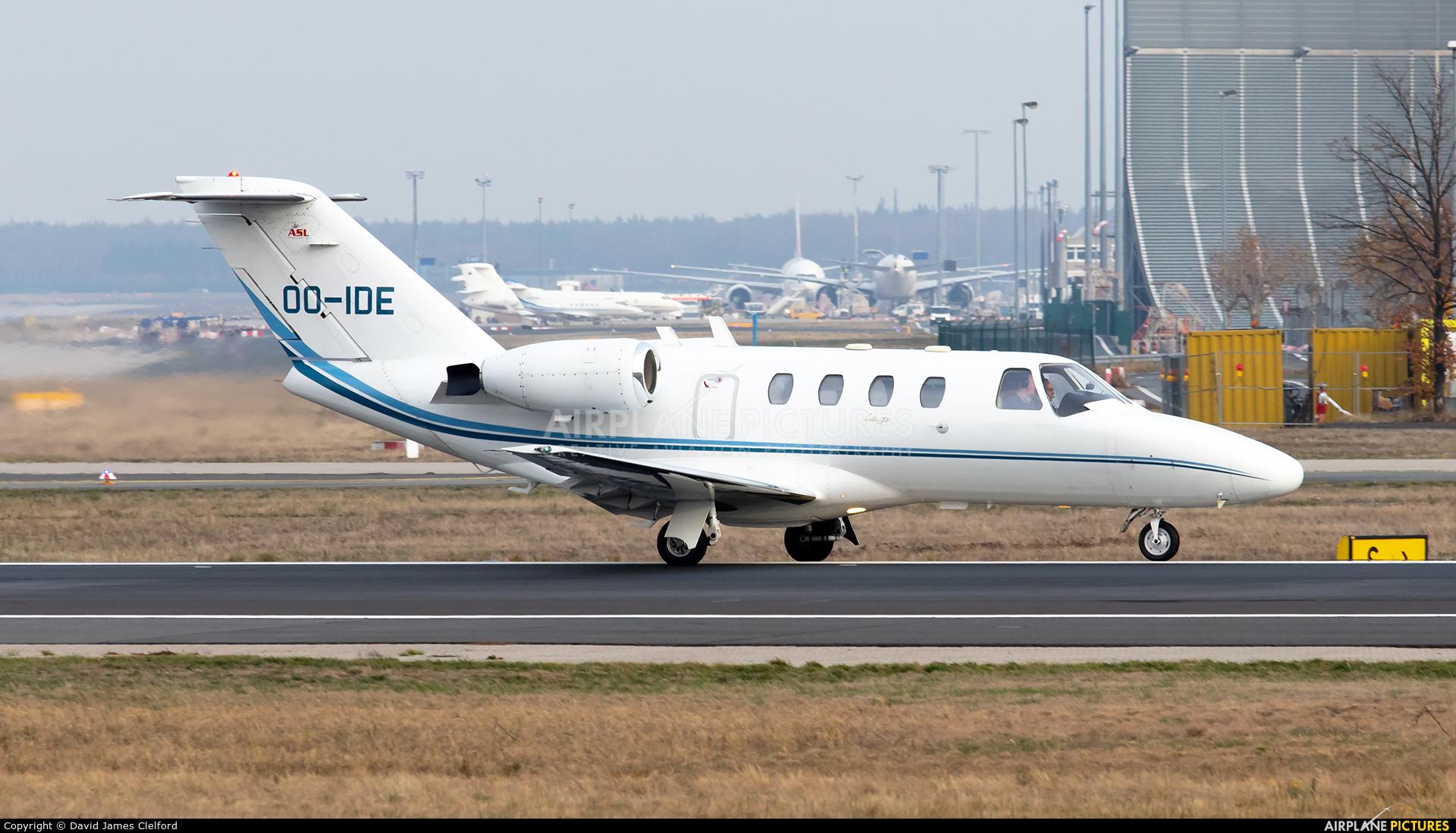 ASL - Air Service Liege OO-IDE aircraft at Frankfurt