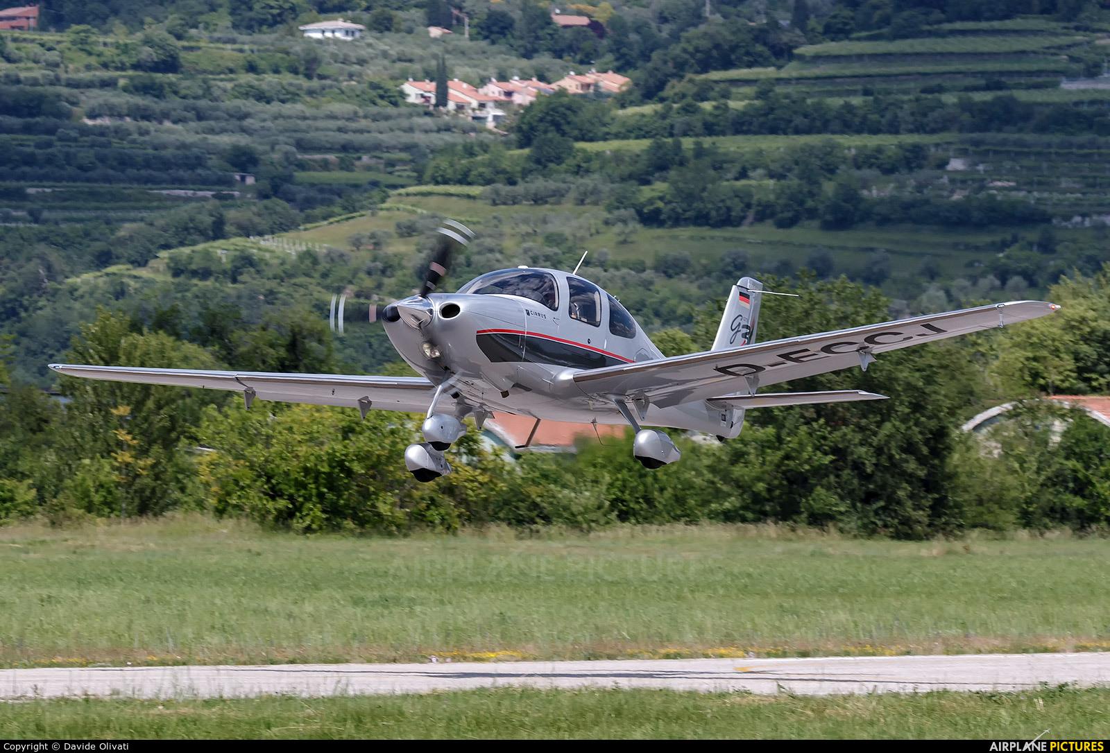 Private D-ECCJ aircraft at Verona - Boscomantico