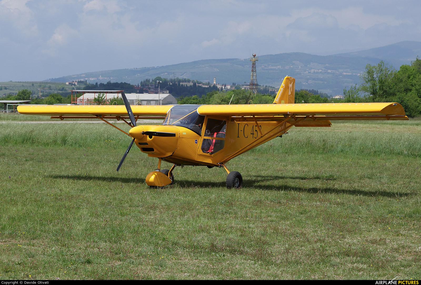 Private I-C453 aircraft at Verona - Boscomantico
