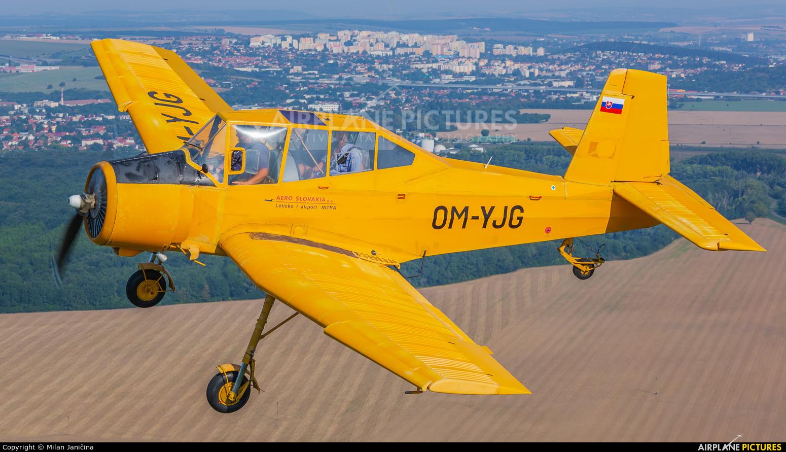 Aero Slovakia OM-YJG aircraft at In Flight - Slovakia