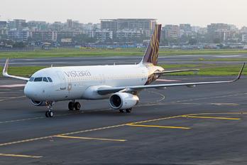 VT-TTE - Vistara Airbus A320