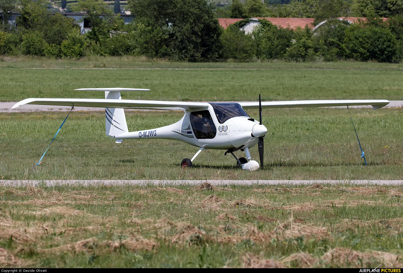 Private D-MJWG aircraft at Verona - Boscomantico