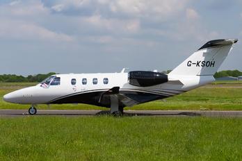 G-KSOH - Air Charter Scotland Cessna 525 CitationJet M2