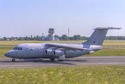 RAF BAe 146 visited Poznań title=