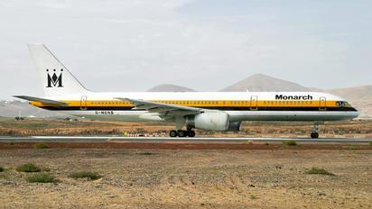 G-MONB - Monarch Airlines Boeing 757-200