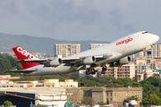 FlyPro Boeing 747-200F visited Mumbai title=
