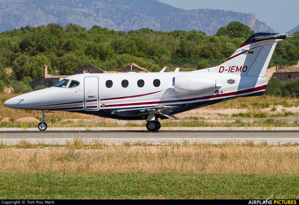 Privateways D-IEMO aircraft at Palma de Mallorca