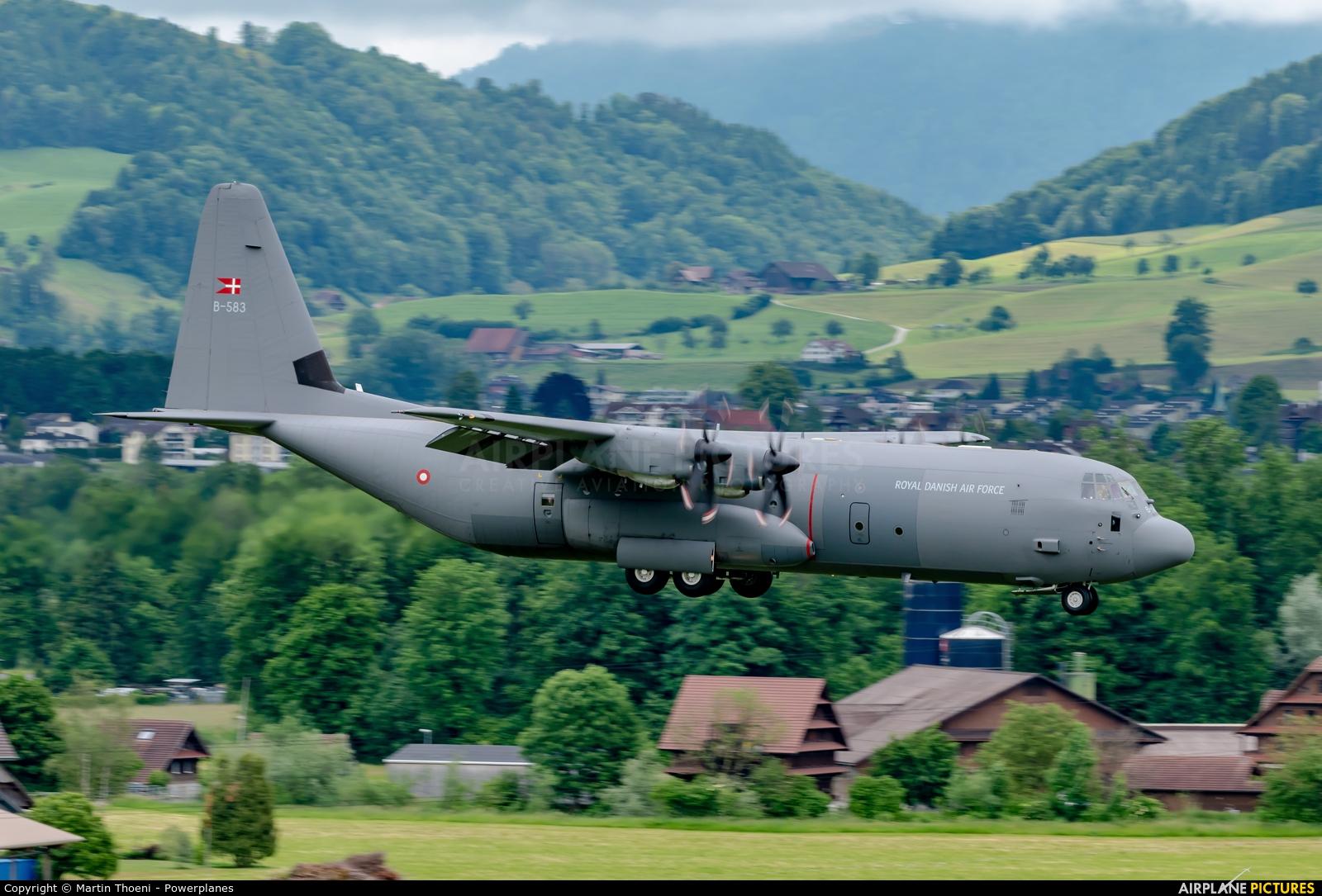 Denmark - Air Force B-583 aircraft at Emmen