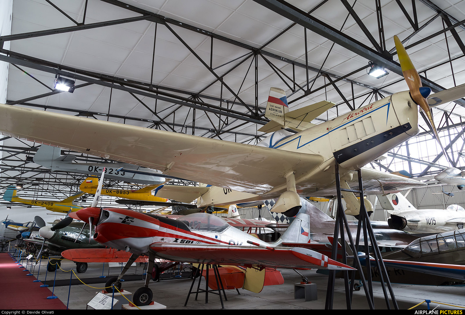 Private OK-KMA aircraft at Prague - Kbely, Letecké muzeum