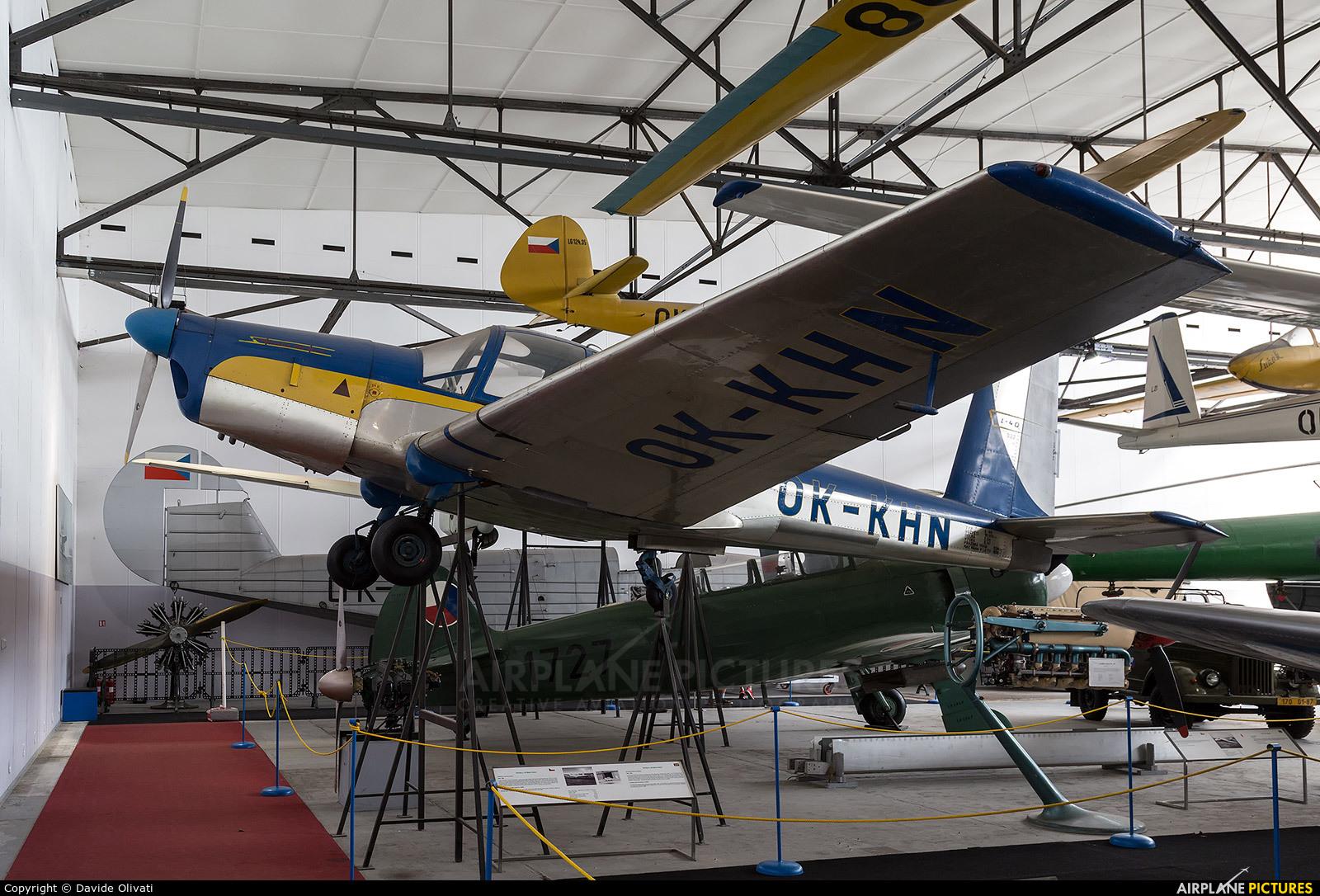 Private OK-KHN aircraft at Prague - Kbely, Letecké muzeum