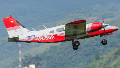 HK-5011 - Helijet Piper PA-34 Seneca