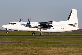 SE-LTR - AmaPola Flyg Fokker 50