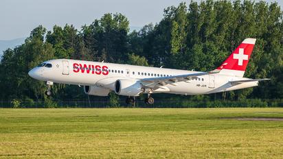 HB-JCR - Swiss Bombardier CS300