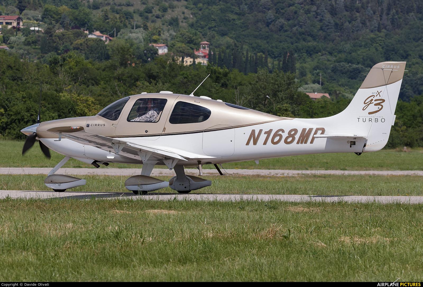 Private N168MP aircraft at Verona - Boscomantico